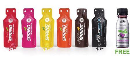 Spring Marathon Set Pack & Δώρο 1 Beet It Sport Nitrate 400, 70ml