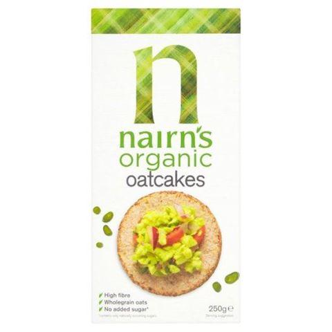 Nairn's Μπισκότα Βρώμης Ολικής 250γρ