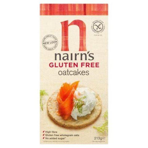 Nairn's Μπισκότα Βρώμης Ολικής χωρίς γλουτένη 213γρ