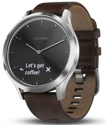 Garmin Vivomove HR, Premium, Black-Silver, L, GA-010-01850-34
