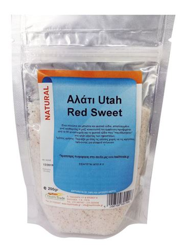 Health Trade Αλάτι Utah Red Sweet 200gr