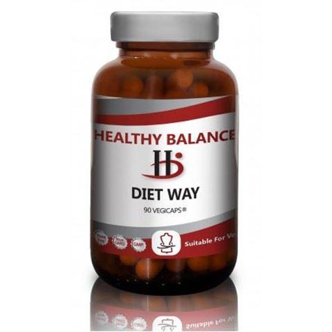 Healthy Balance Diet Way 90 Φυτικές Κάψουλες