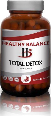 Healthy Balance Total Detox 120 Φυτικές Κάψουλες