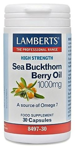 Lamberts Sea Buckthorn 1000mg (Iπποφαές) 30 Κάψουλες