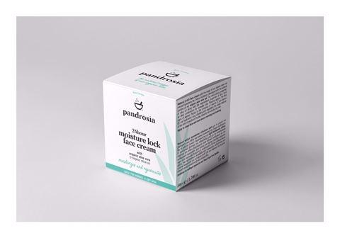Pandrosia 24ωρη Ενυδατική Κρέμα Προσώπου 50ml με βιολογική αλόη