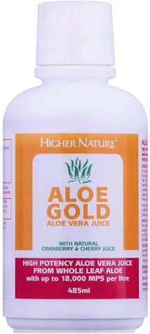 Higher Nature Aloe Gold Natural 485 ml