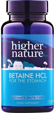 Higher Nature Betaine 90 Ταμπλέτες