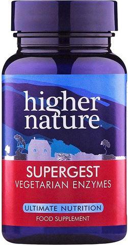Higher Nature Supergest 30 Φυτικές Κάψουλες