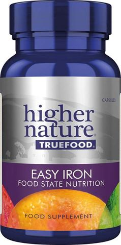 Higher Nature True Food Easy Iron 90 Φυτικές Κάψουλες