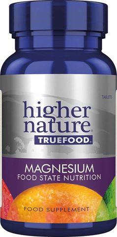Higher Nature True Food Magnesium 90 Φυτικές Ταμπλέτες