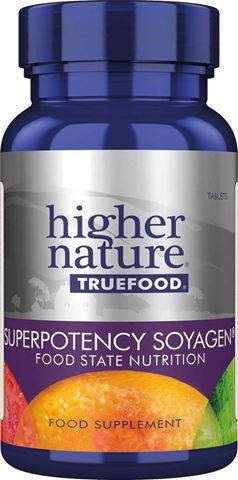 Higher Nature True Food Super Potency Soyagen 30 Φυτικές Ταμπλέτες