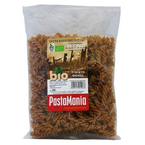 Pastamania Μακαρόνια Βίδες Ολικής Άλεσης ΒΙΟ 500γρ