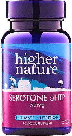 Higher Nature Serotone-5 HTP 50mg 30 Φυτικές Ταμπλέτες