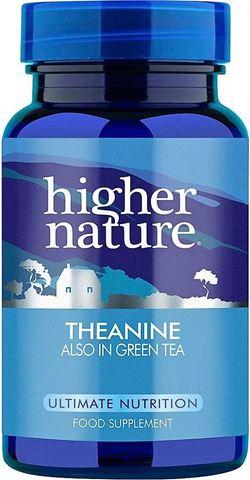 Higher Nature Theanine 90 Φυτικές Κάψουλες