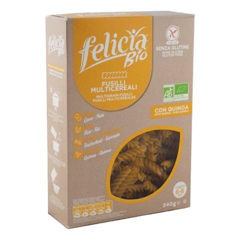 Felicia Βίδες 4ων Δημητριακών Χωρίς Γλουτένη 340γρ BIO