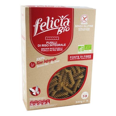 Felicia Βίδες Καστανού Ρυζιού Χωρίς Γλουτένη 340γρ BIO