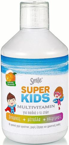 Smile SuperKids Multivitamin 500ml