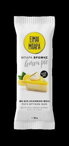 """""""Είμαι Μπάρα"""" Μπάρα Βρώμης Lemonpie 65gr"""