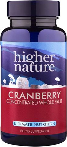 Higher Nature Cranberry Concentrated 90 Μαλακές Κάψουλες