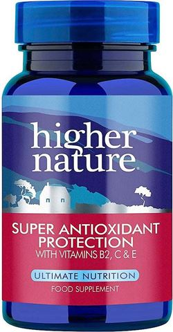 Higher Nature Super Antioxidant Protection 90 Ταμπλέτες