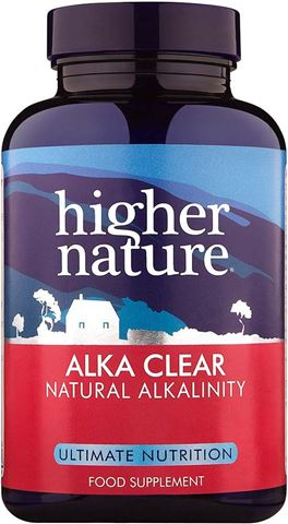 Higher Nature Alka-Clear Powder 180 Κάψουλες