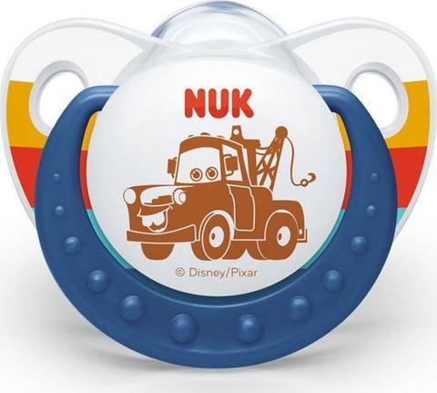 Nuk Trendline Disney ''Cars'' Σιλικόνης Mater 0-6m 1τμχ