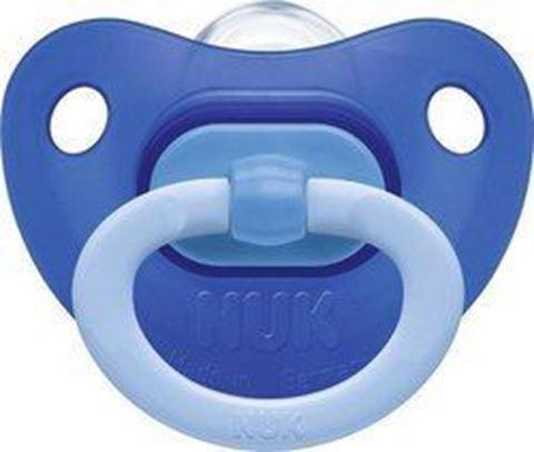 Nuk Classic Fashion Μπλε Γαλάζιο 0-6m 1τμχ