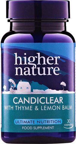 Higher Nature Candiclear 90 Φυτικές Κάψουλες