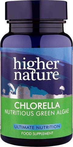 Higher Nature Chlorella 180 Φυτικές Ταμπλέτες