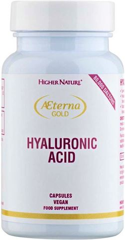 Higher Nature Aeterna Gold Hyaluronic Acid 30 Φυτικές Κάψουλες