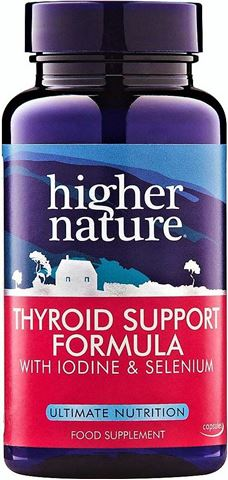 Higher Nature Thyroid Support Formula 60 Φυτικές Κάψουλες