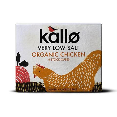 Kallo Κύβοι Μαγειρικής Κοτόπουλο με Χαμηλό Αλάτι 48γρ Χωρίς Γλουτένη & Λακτόζη