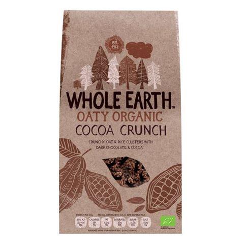 Whole Earth Δημητριακά Cocoa Crunch με Σοκολάτα 375γρ