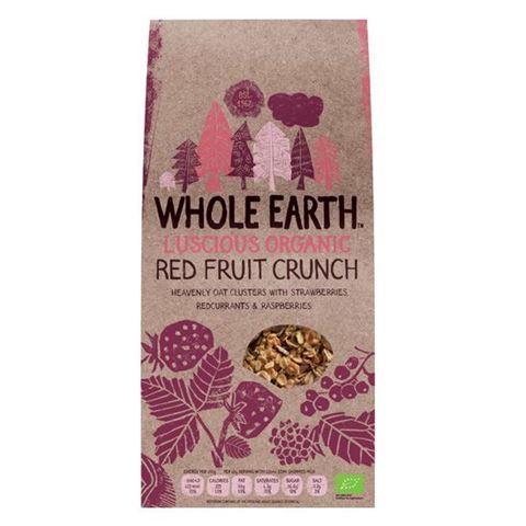 Whole Earth Δημητριακά Crunchy με Κόκκινα Φρούτα 450γρ
