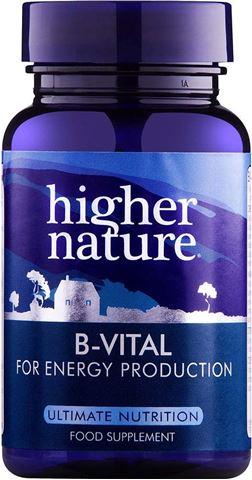 Higher Nature B-Vital 30 Φυτικές Ταμπλέτες