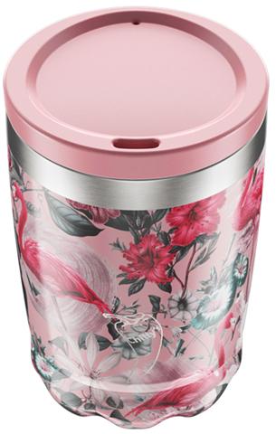 Chillys Coffe Cup Flamingo από Ανοξείδωτο Ατσάλι 340ml