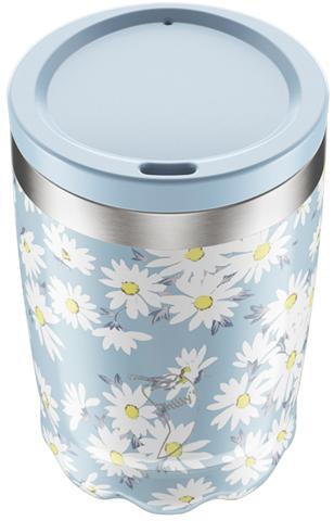 Chillys Coffe Cup Floral από Ανοξείδωτο Ατσάλι 340ml