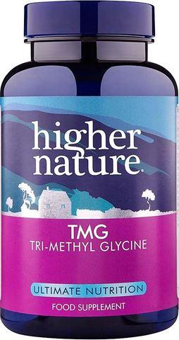 Higher Nature TMG 90 Φυτικές Κάψουλες