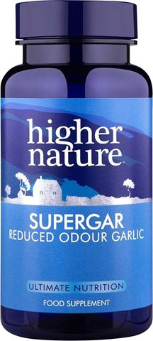Higher Nature Supergar 8000 Super Strength 90 Φυτικές Κάψουλες