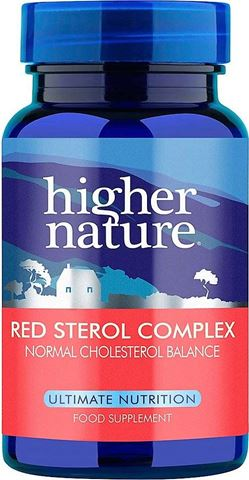 Higher Nature Red  Sterol Complex 90 Ταμπλέτες