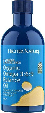 Higher Nature Organic Omega 3:6:9 Balance Oil 350 ml