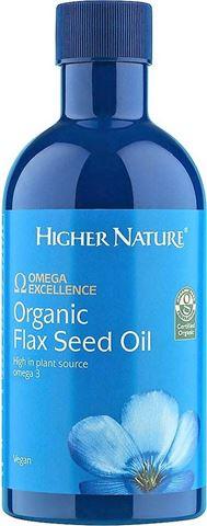 Higher Nature Organic Flax Seed Oil 350 ml