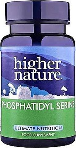 Higher Nature Phosphatidyl Serine 45 Μαλακές Κάψουλες
