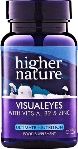 Higher Nature Visual Eyes 90 Κάψουλες