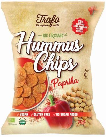 Trafo Τσίπς Hummus με Πάπρικα ΒΙΟ 75γρ