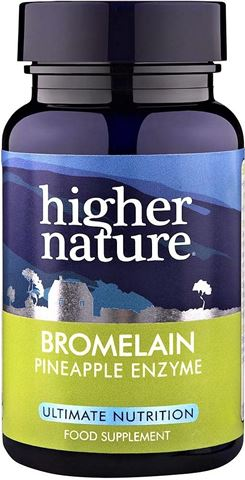Higher Nature Bromelain 30 Κάψουλες