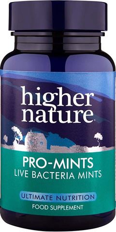 Higher Nature Pro-Mints 60 Ταμπλέτες