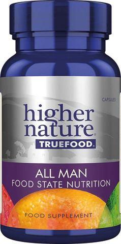 Higher Nature True Food All Man 30 Φυτικές Κάψουλες