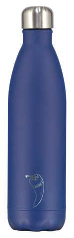 Chillys Matte Blue Παγούρι από Ανοξείδωτο Ατσάλι 750ml