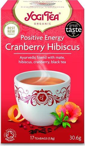 Yogi Tea Cranberry-Hibiscus 30.6gr